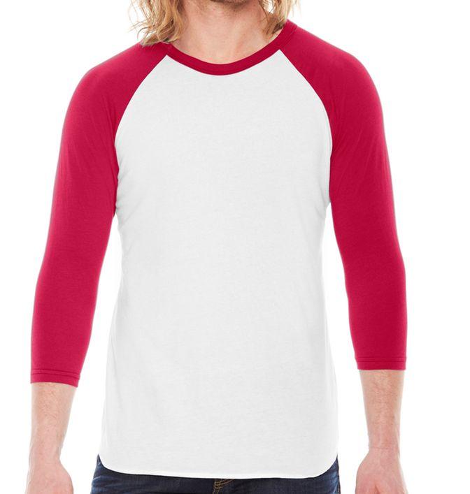חולצה אמריקאית שרוול אדום