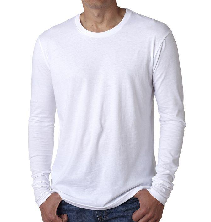 חולצת גברים ארוכה לבנה