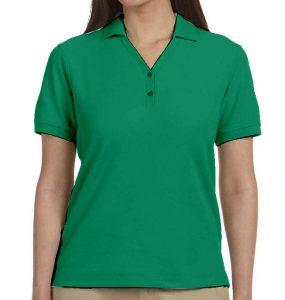 פולו נשים ירוק בנטון
