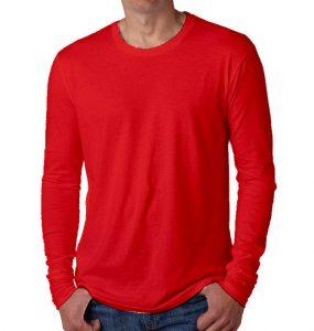 חולצות ארוכות גברים אדום